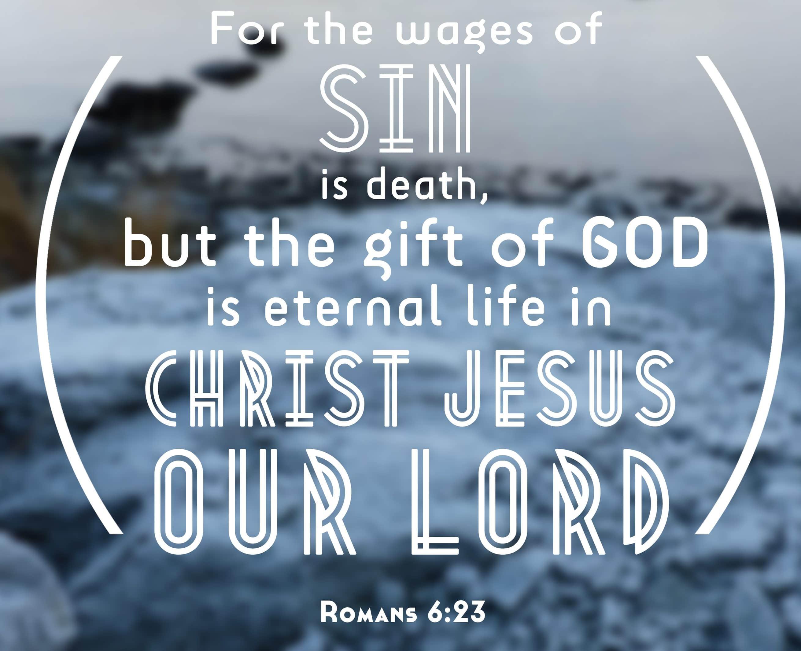 Romabii 6:23